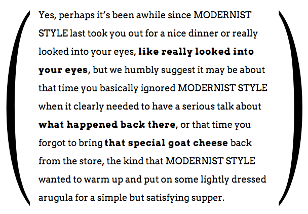 excerpt from Manifesto for modernist digital humanities